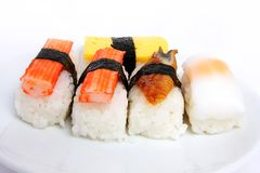Japanese sushi traditional food Royalty Free Stock Image