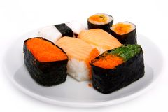 Japanese sushi traditional food Stock Images