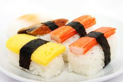 Japanese sushi traditional food Royalty Free Stock Images