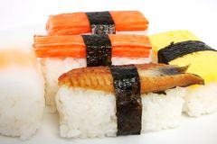 Japanese sushi traditional food Stock Photography