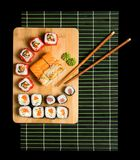 Japanese sushi traditional Japanese food Royalty Free Stock Photos