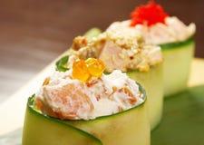 Japanese sushi  traditional japanese food Royalty Free Stock Photos