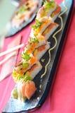 Japanese sushi traditional Royalty Free Stock Photos