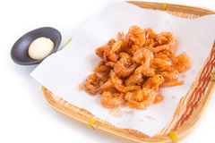 Japanese sweet fried shrimp Royalty Free Stock Images