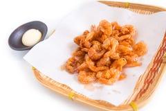 Japanese sweet fried shrimp Royalty Free Stock Images