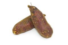 Japanese sweet potato isolated on white background Royalty Free Stock Image