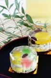 Japanese sweets. For Bon festival Stock Image