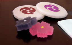 Japanese sweets royalty free stock photography