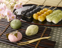 Japanese Sweets Stock Photos