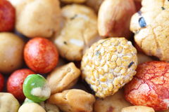 Japanese sweets beans Royalty Free Stock Photography