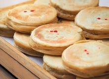 Japanese sweets pancake `Dorayaki` Royalty Free Stock Photos