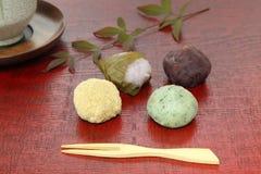 Japanese sweets Stock Image