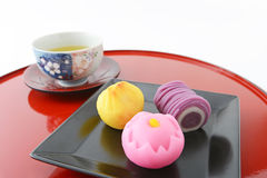 Japanese sweets Royalty Free Stock Photos