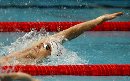 Japanese swimmer Ryosuke Irie Stock Images