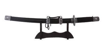 Japanese sword. Royalty Free Stock Photography