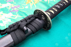 Japanese sword Stock Photos