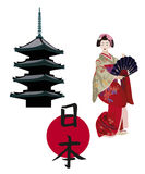 Japanese Symbols Stock Images