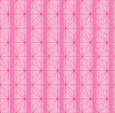 Japanese symmtery Asanoha Isometric stripe seamless pattern Royalty Free Stock Photography
