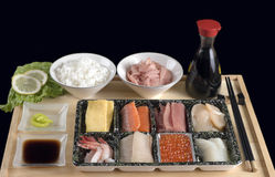 Japanese table Stock Image