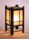Japanese table lamp Stock Photography