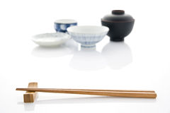 Japanese tableware Royalty Free Stock Photography