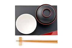 Japanese tableware Royalty Free Stock Images
