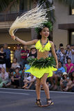 Japanese Tahitian Hula Star Stock Photos
