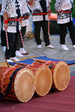 Japanese Taiko Drum Royalty Free Stock Photography