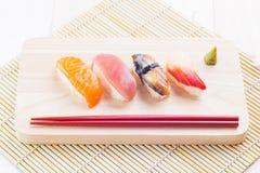 Japanese tasty sushi Stock Photography