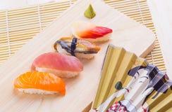 Japanese tasty sushi Stock Photo