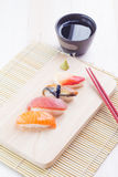Japanese tasty sushi Royalty Free Stock Photos