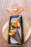 Japanese tasty sushi set Stock Image