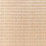 Japanese tatami flooring mat Stock Photography