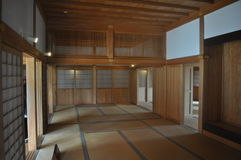Japanese Tatami Room. An image of a traditional Japanese Tatami room Stock Images