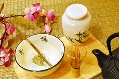 Japanese tea ceremony Royalty Free Stock Photography