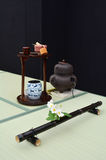 Japanese tea ceremony room Royalty Free Stock Photography