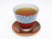 Japanese tea cup and tea Stock Photography