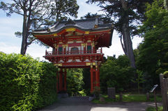Japanese tea garden. In SF Royalty Free Stock Images