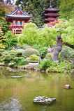 Japanese Tea Garden Stock Image