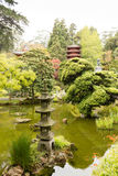 The Japanese Tea Garden in Golden Gate Park in San Francisco Royalty Free Stock Photo