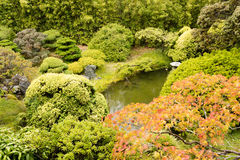 The Japanese Tea Garden in Golden Gate Park in San Francisco Royalty Free Stock Photography