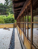 Japanese Tea Garden House Royalty Free Stock Images