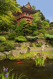 Japanese Tea Garden. Located in San Francisco Stock Photo