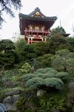 Japanese Tea Garden Pagoda royalty free stock images