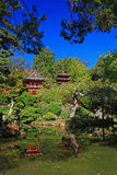 Japanese Tea Garden in San Francisco Stock Photography
