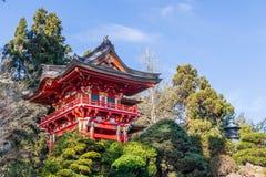 Japanese Tea Garden. In San Francisco stock photos