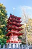 Japanese Tea Garden. In San Francisco stock image