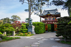 Japanese Tea Garden in San Francisco Stock Images