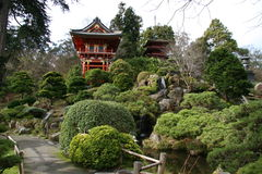 Japanese Tea Gardens Stock Photography