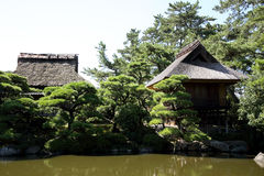 Japanese tea house Stock Image